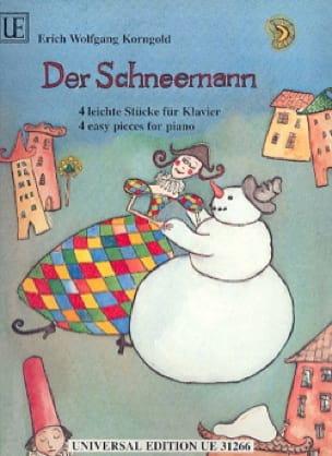 Der Schneemann - KORNGOLD - Partition - Piano - laflutedepan.com