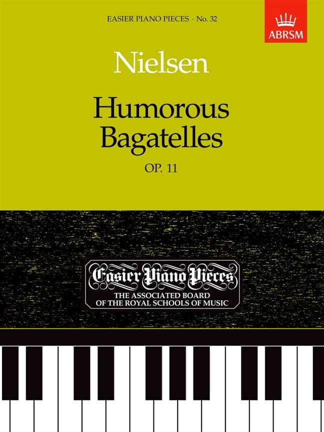 Humorous Bagatelles Op. 11 - NIELSEN - Partition - laflutedepan.com