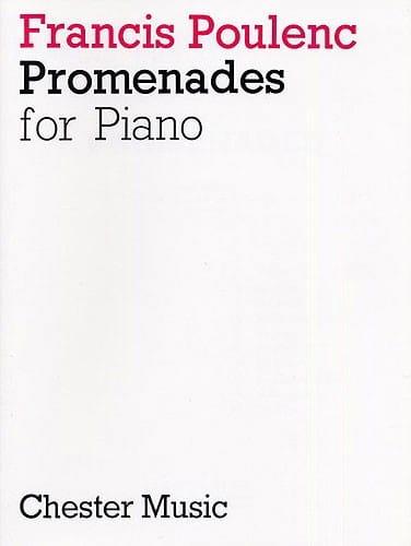 10 Promenades - POULENC - Partition - Piano - laflutedepan.com