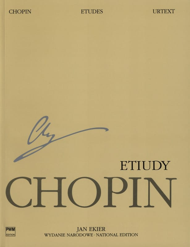 Etudes - CHOPIN - Partition - Piano - laflutedepan.com