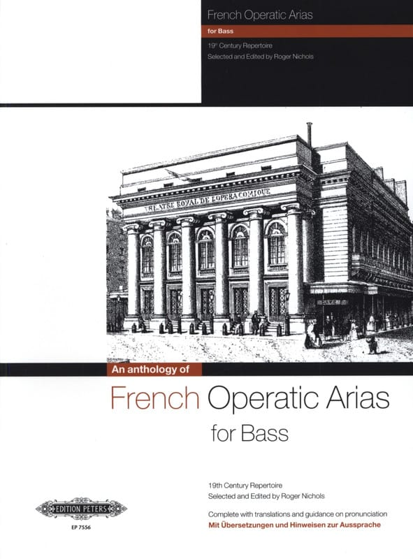 - French Operatic Arias Bass - Partition - di-arezzo.co.uk