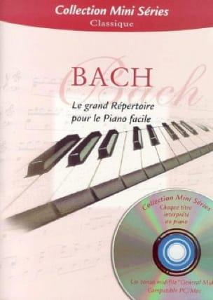 Le Grand Répertoire Pour le Piano Facile - BACH - laflutedepan.com
