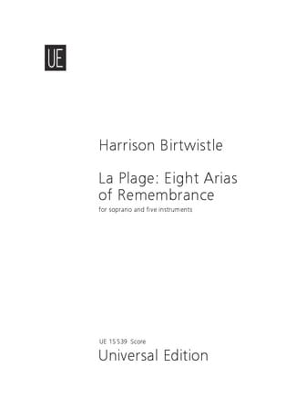 La Plage : 8 Arias Of Remembrance - laflutedepan.com