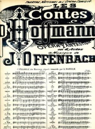Il Etait une Fois A la Cour d' Eisenach. Contes D'hoffmann - laflutedepan.com