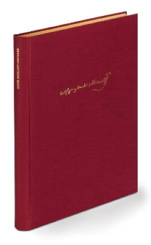 Supplément Série 10. Relié - Mozart - Partition - laflutedepan.com