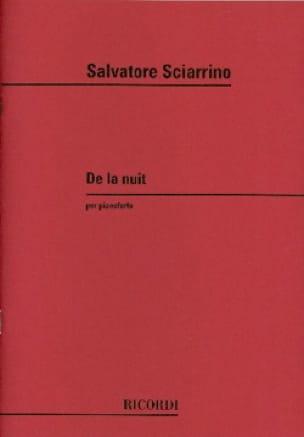 De la Nuit. - Salvatore Sciarrino - Partition - laflutedepan.com