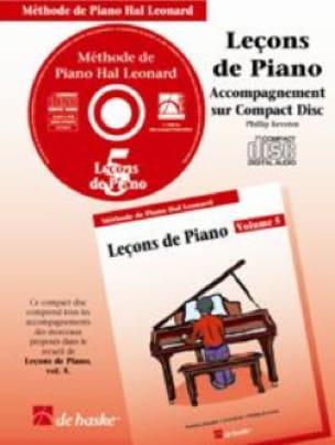 Leçons de Piano Volume 5. CD - laflutedepan.com