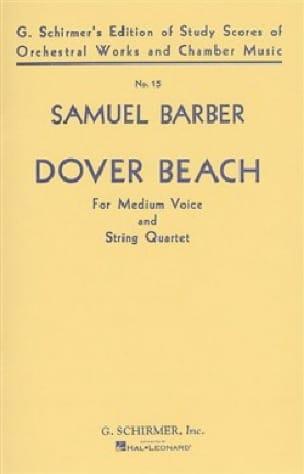 Dover Beach Opus 3 Conducteur - Samuel Barber - laflutedepan.com