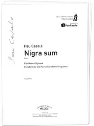 Nigra Sum - Pablo Casals - Partition - Chœur - laflutedepan.com