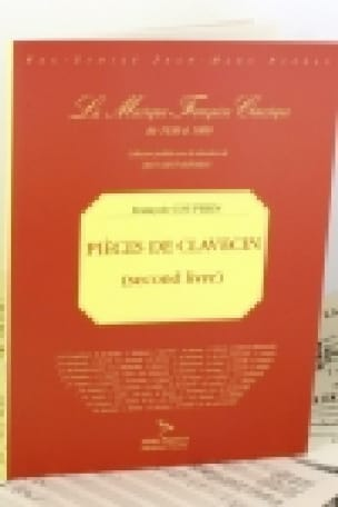 François Couperin - Pieces of Harpsichord 2nd Book - Partition - di-arezzo.co.uk