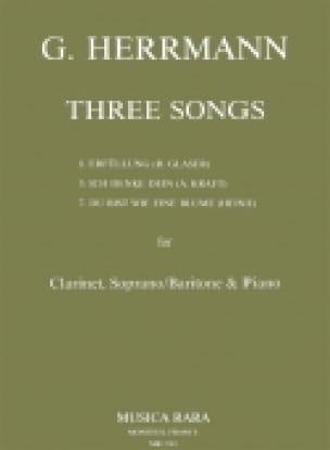 3 Songs - Gottfried Herrmann - Partition - Duos - laflutedepan.com