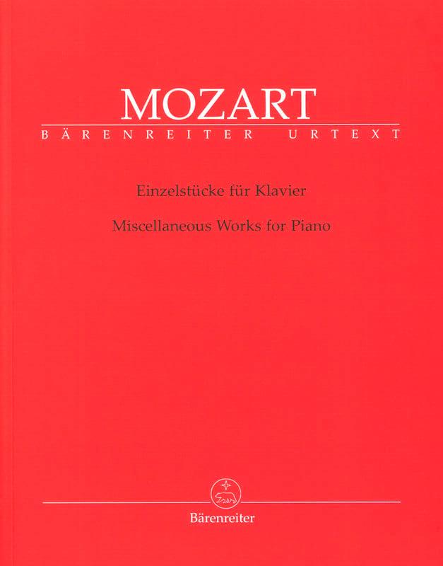 Einzelstücke Für Klavier - MOZART - Partition - laflutedepan.com