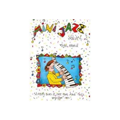 Mini-Jazz Vol 2 + K7 - Michel Plancq - Partition - laflutedepan.com