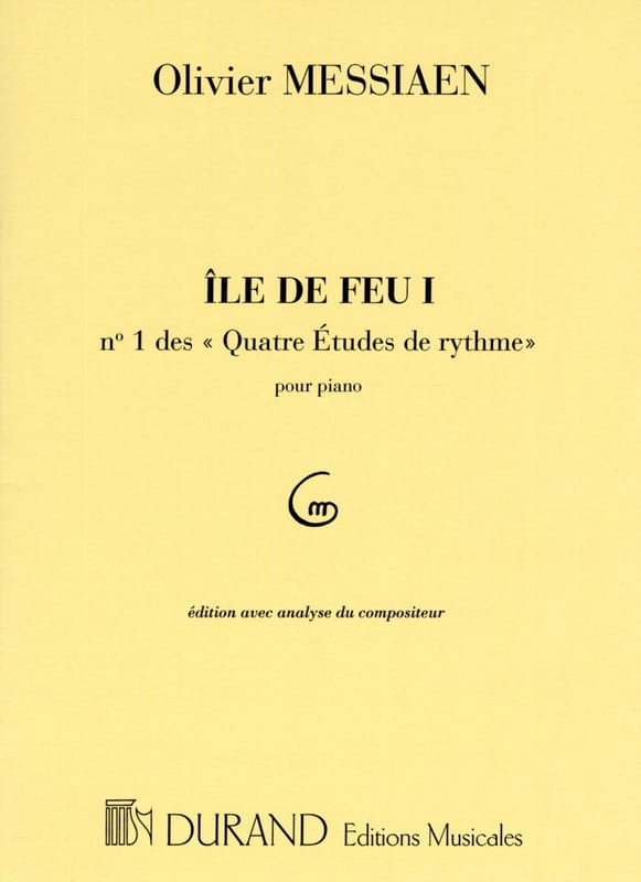 Olivier Messiaen - Isle of Fire 1 - Partition - di-arezzo.co.uk