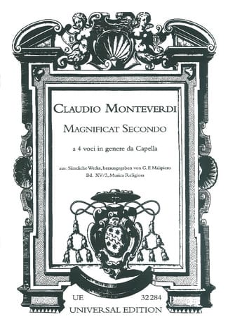 Magnificat Secondo - Claudio Monteverdi - Partition - laflutedepan.com