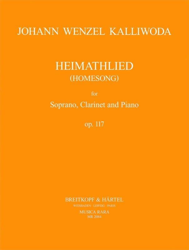 Heimathlied Opus 117 - Johann Wenzel Kalliwoda - laflutedepan.com