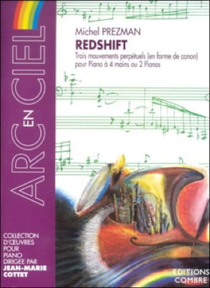 Redshift 4 Mains Ou 2 Pianos - Prezman - Partition - laflutedepan.com