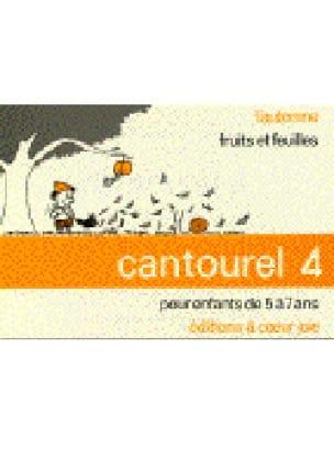 Cantourel 4 - Partition - Chœur - laflutedepan.com