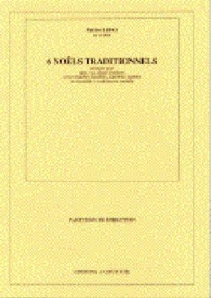 6 Noëls Traditionnels. Conducteur - Patrice Libes - laflutedepan.com
