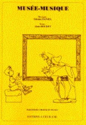 Etienne Daniel - Museum-Music - Partition - di-arezzo.com