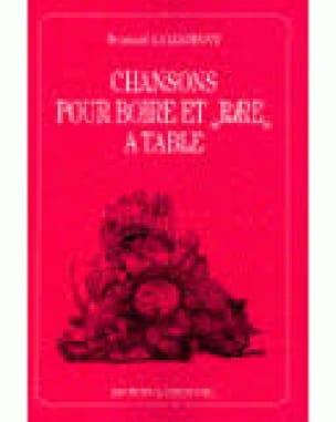Chansons Pour Boire et Rire A Table - Partition - laflutedepan.com