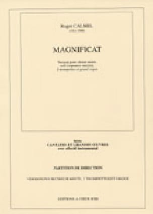 Magnificat 1ère Version - Roger Calmel - Partition - laflutedepan.com