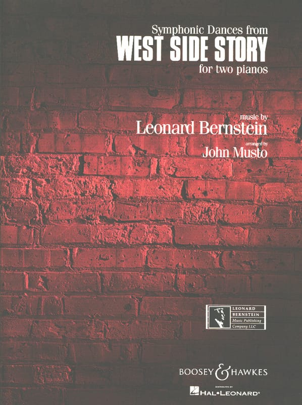 Leonard Bernstein - Symphonic Dances From West Side Story. - Partition - di-arezzo.co.uk