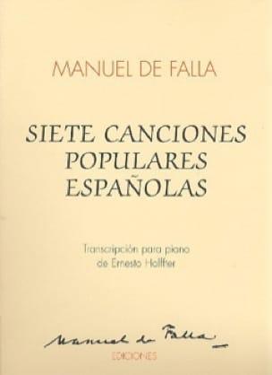 DE FALLA - 7 Canciones Populares Espanolas - Piano - Partition - di-arezzo.es