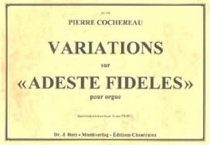 Pierre Cochereau - Variations on Adeste Fideles - Partition - di-arezzo.com