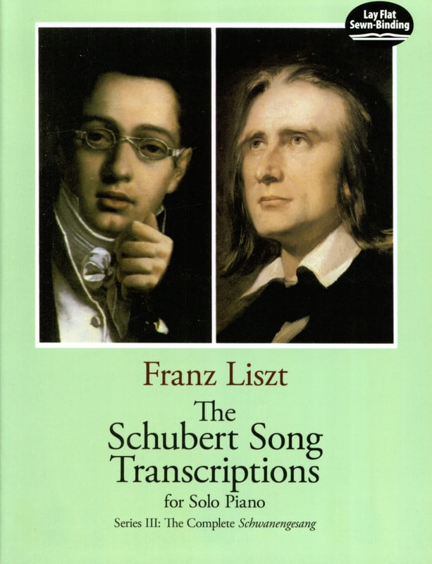 The Schubert Songs Transcriptions Serie 3 - LISZT - laflutedepan.com