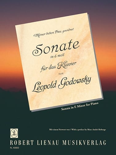Sonate En Mi Mineur - Godowsky - Partition - Piano - laflutedepan.com