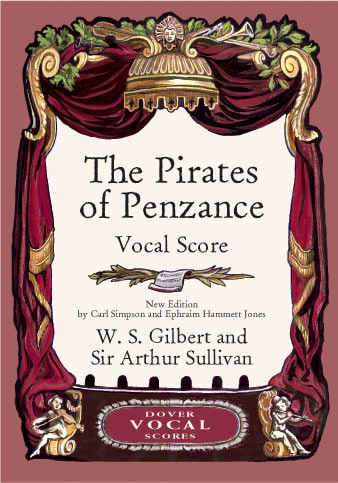 Gilbert William S. / Sullivan Arthur - The Pirates Of Penzance - Partition - di-arezzo.com