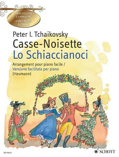 Le Casse-Noisette Opus 71. Piano - TCHAIKOVSKY - laflutedepan.com