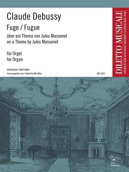 Fugue - DEBUSSY - Partition - Orgue - laflutedepan.com