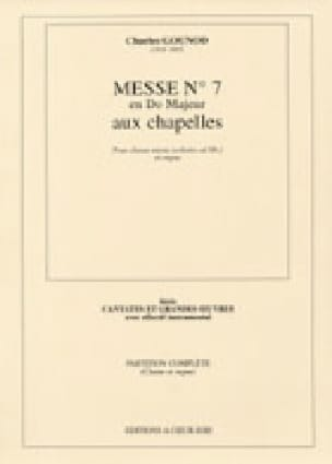 Charles Gounod - Brief Mass N ° 7 In C Major - Partition - di-arezzo.co.uk