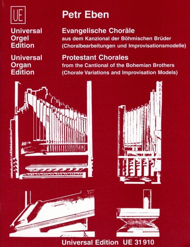 Petr Eben - Evangelische Chorales - Partition - di-arezzo.co.uk