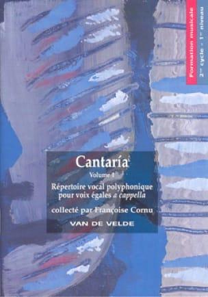 Cantaria - Partition - Chœur - laflutedepan.com