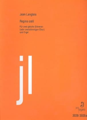 Regina Coeli - Jean Langlais - Partition - Duos - laflutedepan.com