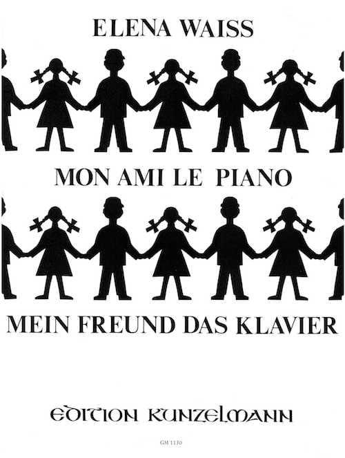 Mon Ami le Piano - Waiss - Partition - Piano - laflutedepan.com