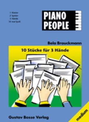 Piano People - Brauckman - Partition - laflutedepan.com