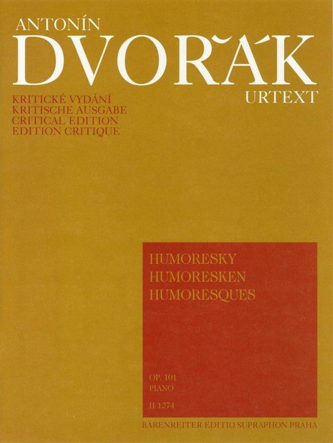 Humoresques Opus 101 - DVORAK - Partition - Piano - laflutedepan.com