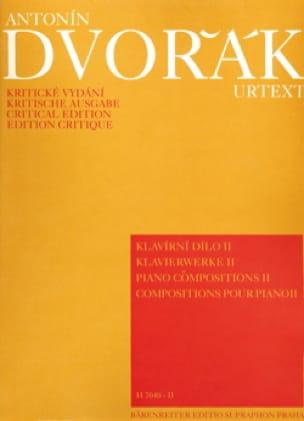 DVORAK - Piano Compositions Volume 2 - Partition - di-arezzo.co.uk