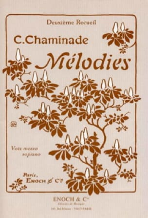 Cécile Chaminade - Melodies Volume 2. Mean Voice - Partition - di-arezzo.es