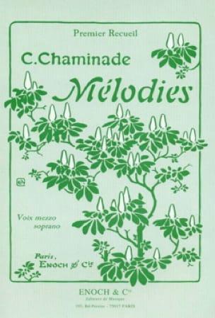Cécile Chaminade - Volumen de melodías 1. Voz mala - Partition - di-arezzo.es
