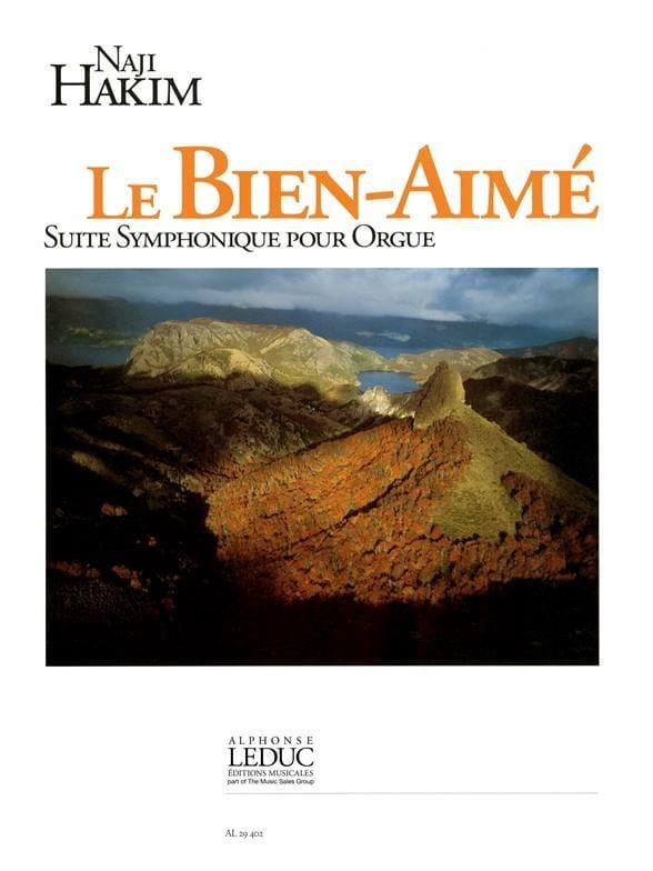 Le Bien-Aimé - Naji Hakim - Partition - Orgue - laflutedepan.com