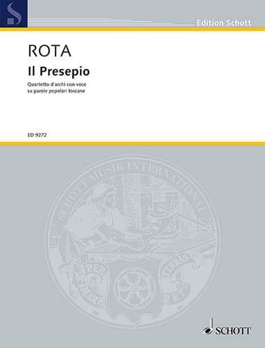 Il Presepio - ROTA - Partition - laflutedepan.com
