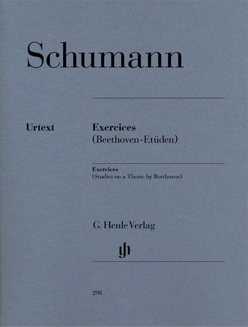 Exercices - Etudes En Forme de Variations Libres sur un Thème de Beethoven - laflutedepan.com