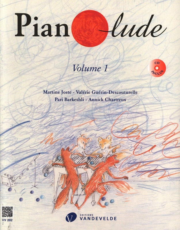 - Pianolude - Volume 1 - Partition - di-arezzo.com