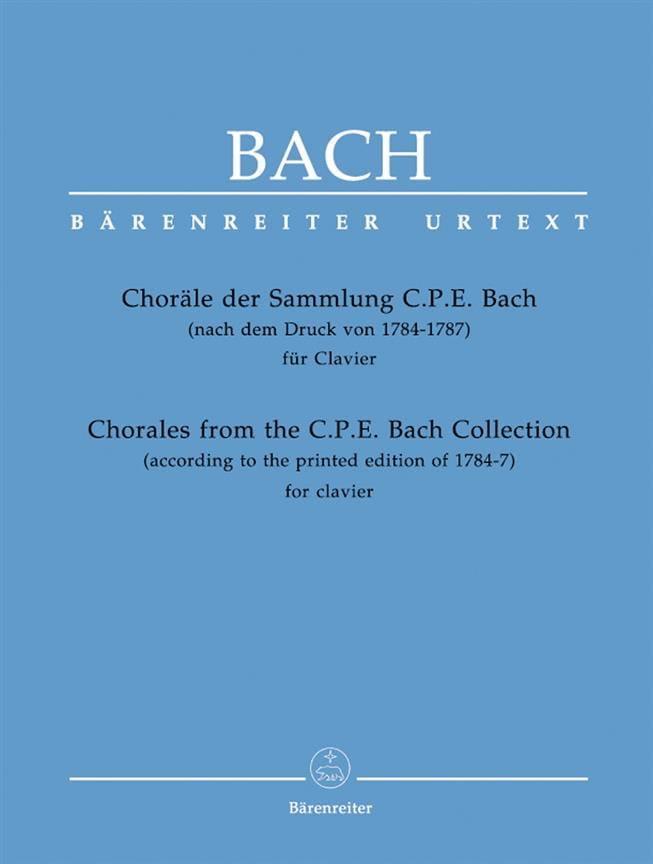 Choräle Der Sammlung Cpe - BACH - Partition - Piano - laflutedepan.com