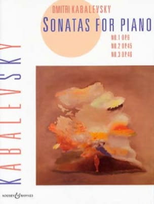 Dimitri Kabalevsky - Sonatas Opus 6, 45, 46 - Partition - di-arezzo.co.uk